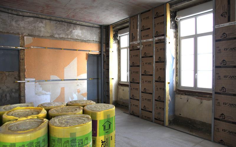 Isolation murs 2