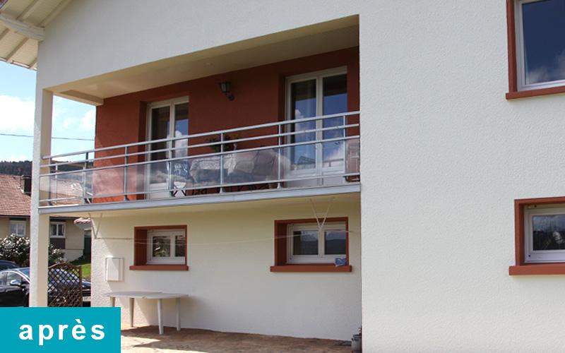 Balcon après